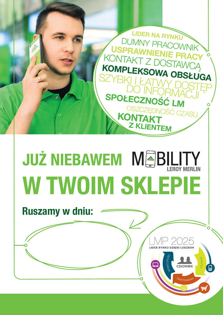 Mobility Smartfon Dla Kazdego Pracownika W Leroy Merlin Polska Beedifferent